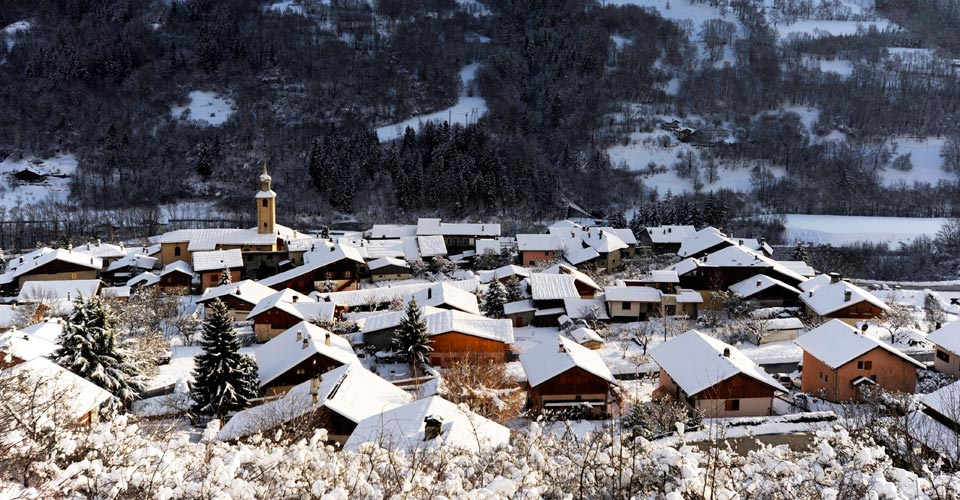 Photo: La Plagne Tourisme - La Plagne village in snow