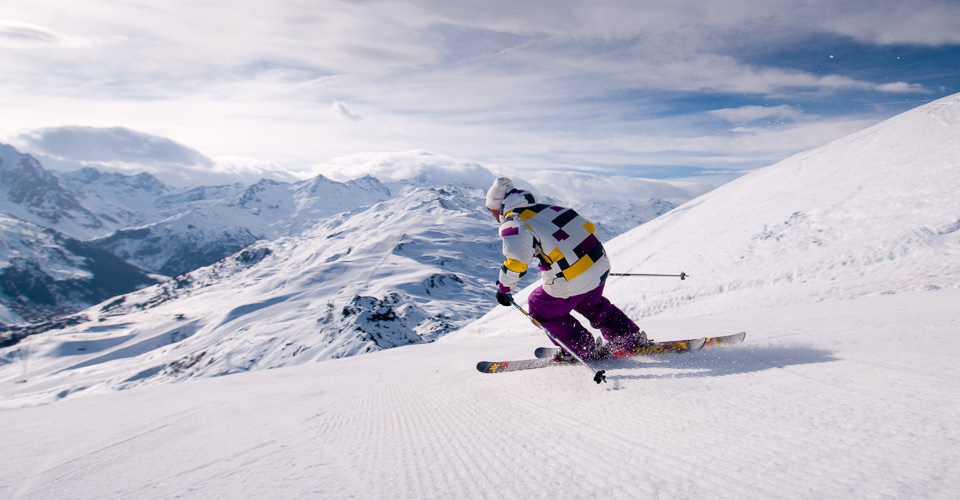 Photo: Fabrice Wittner - Meribel slopes
