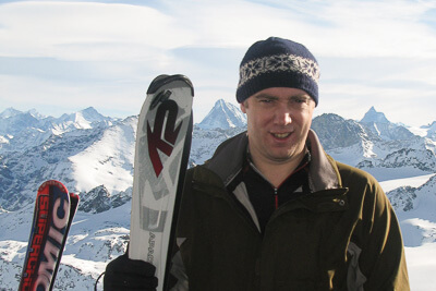 Mark Frary ski writer