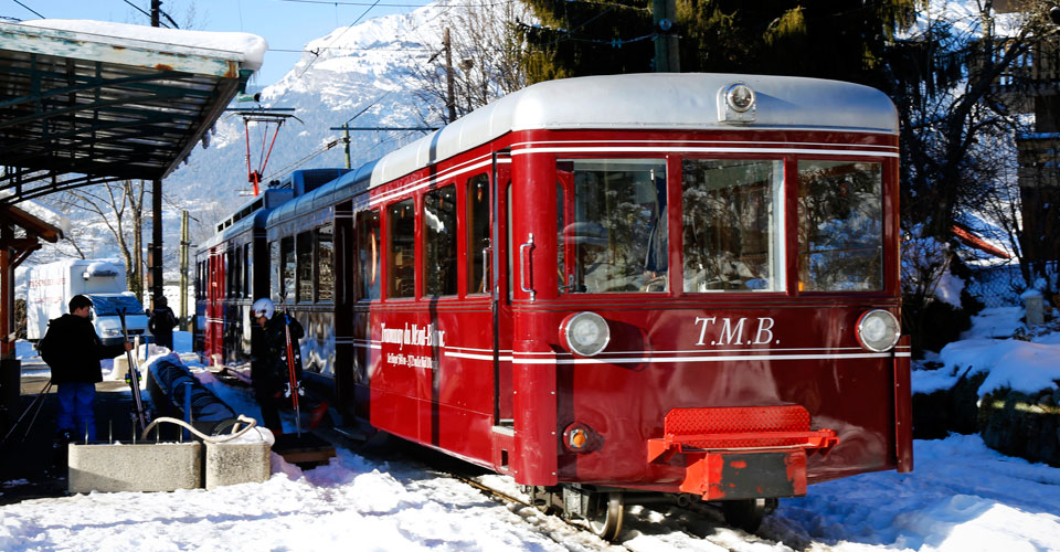 Photo: JCVW - St Gervais tramway