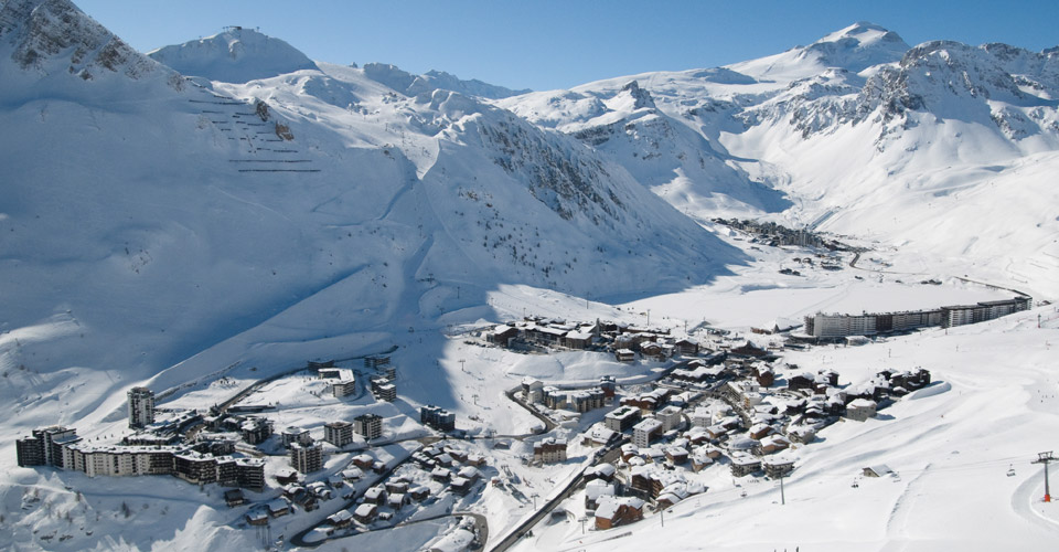 Photo: Andy Parant - Tignes village