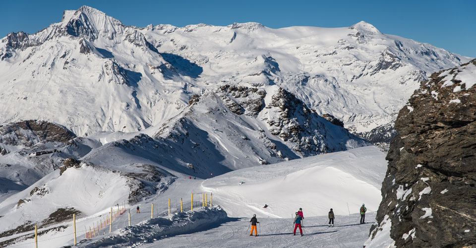 Photo: A Pernet - Val Cenis skiing